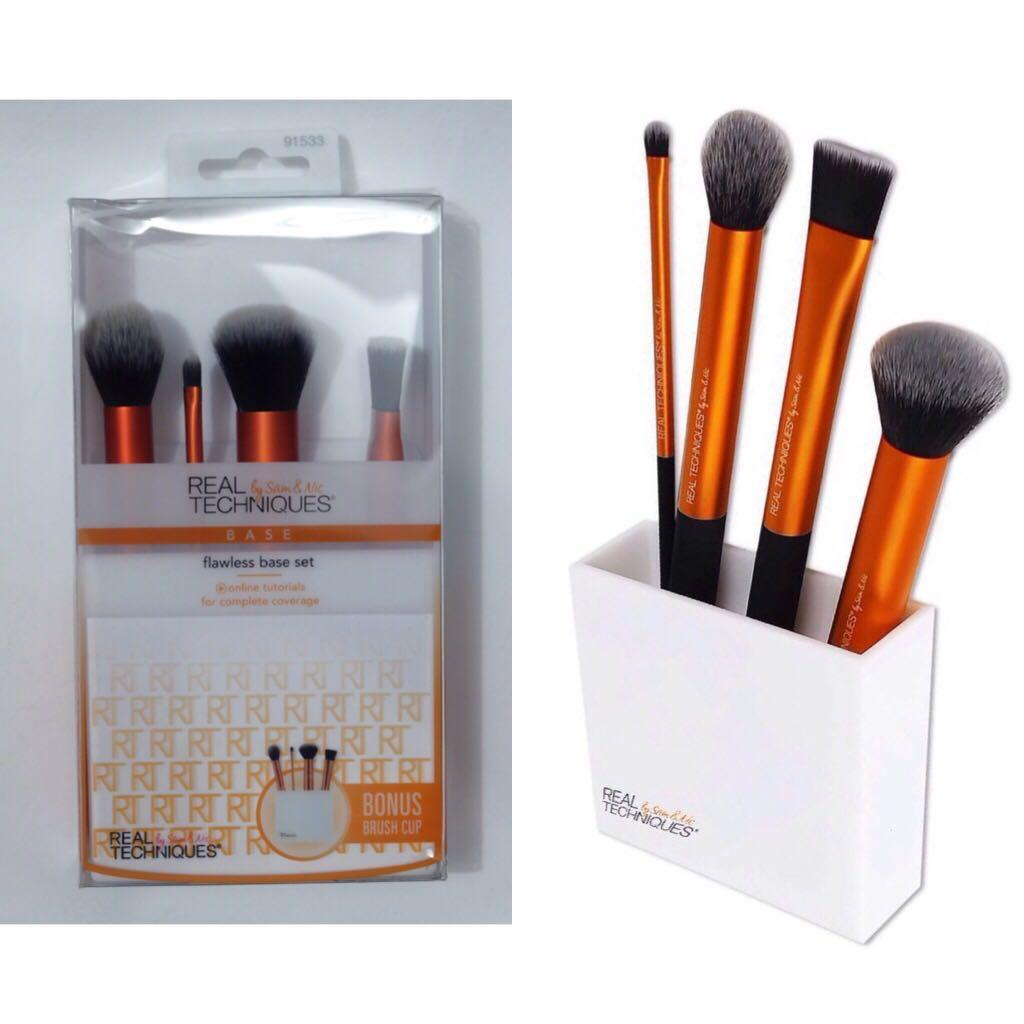 Brush make up Real Techniques Flawless set #RamadanSale