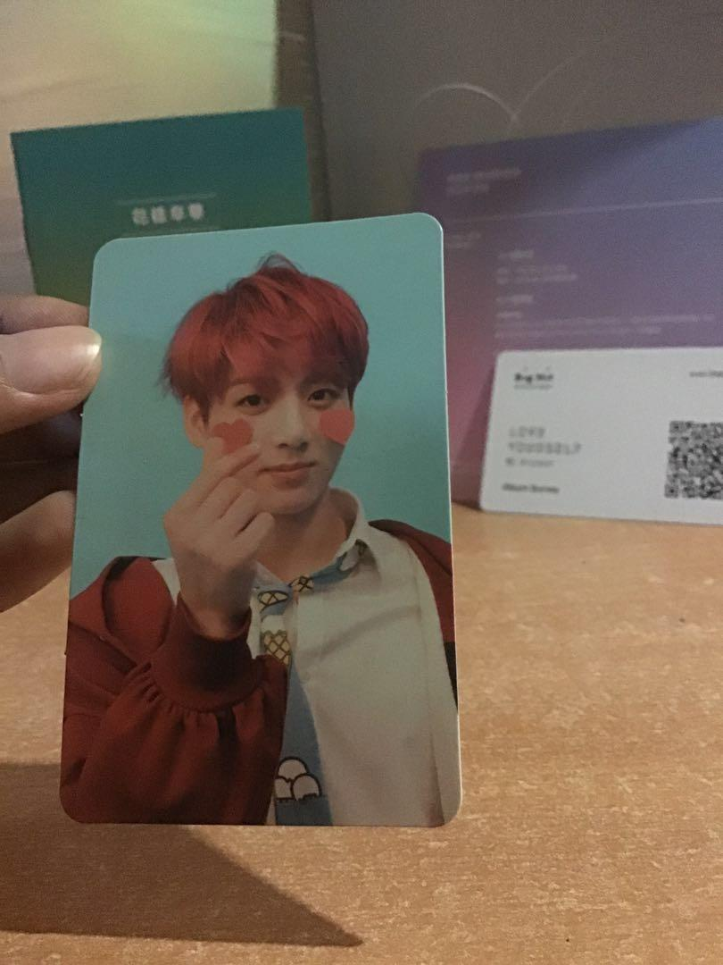 Bts LY Answer ver F album (jungkook pc)