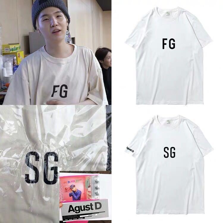 BTS SUGA FG/SG T-SHIRT