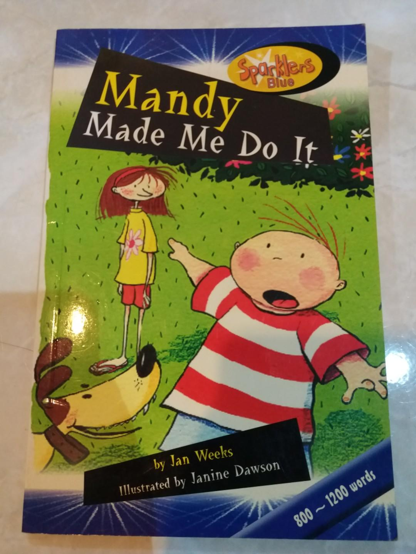 children book buku anak mandy made me do it