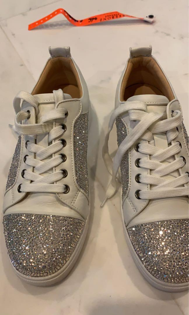 online store 97add 3bb50 Christian Louboutin Swarovski Sneaker , Women's Fashion ...