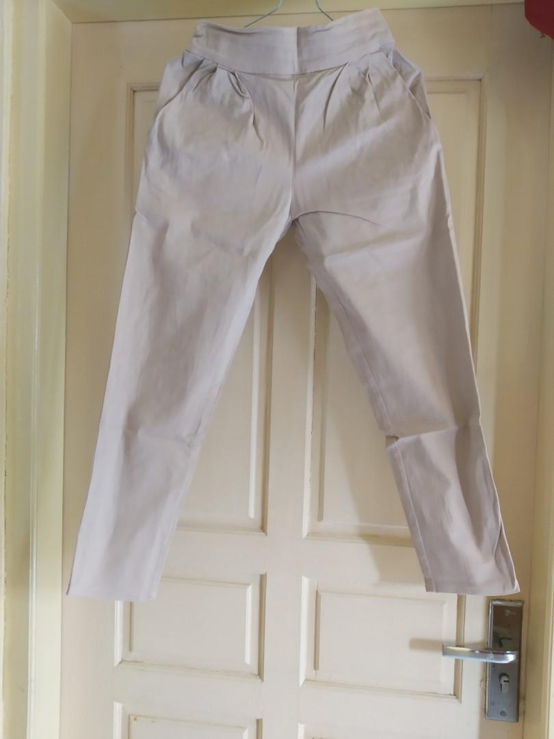 Cream Pants