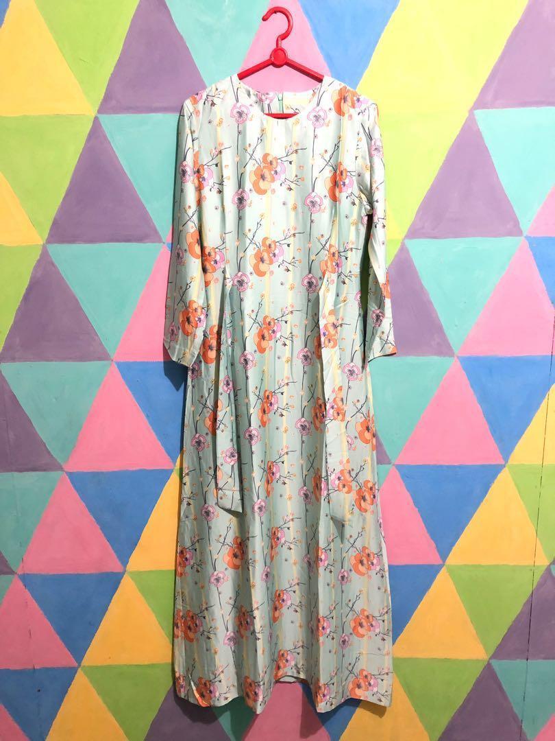 Dress/Gamis Bunga Panjang