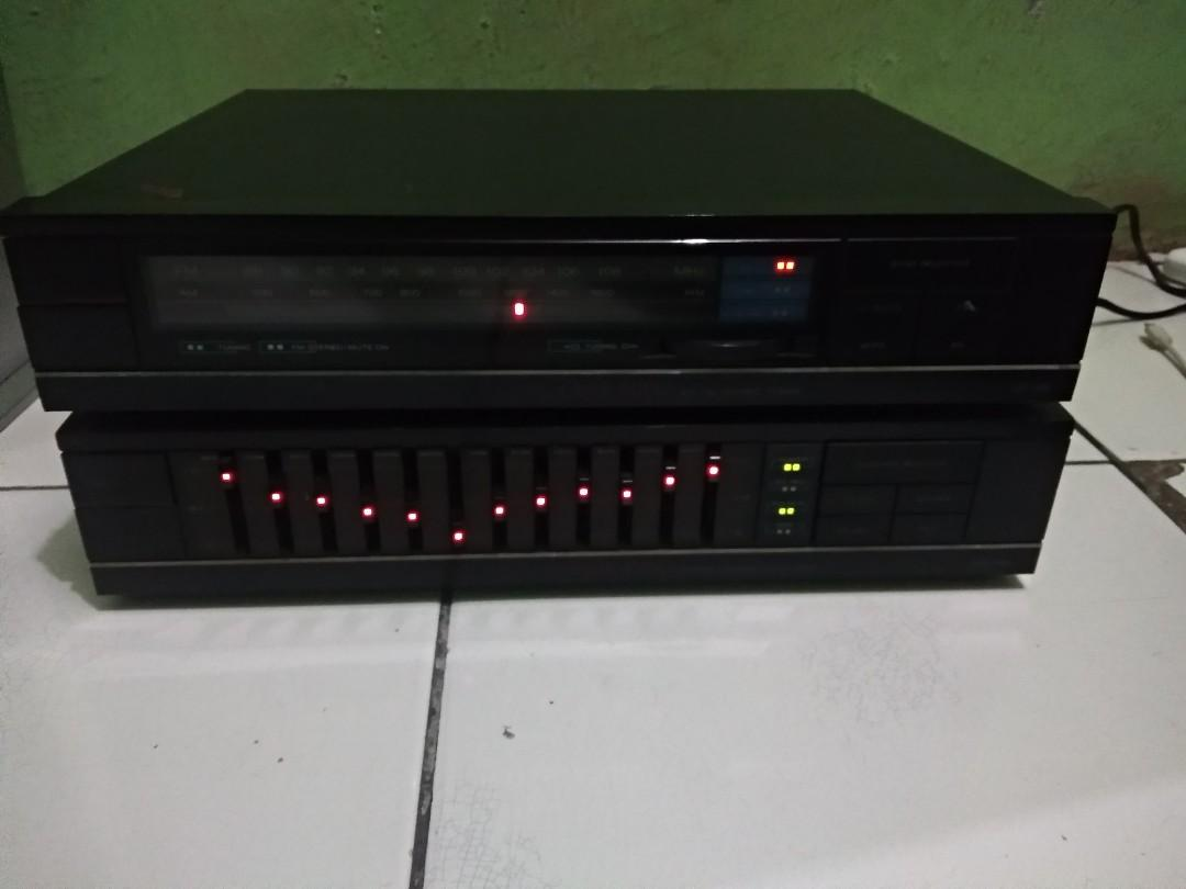 Equalizer dan tuner merk Audio laser