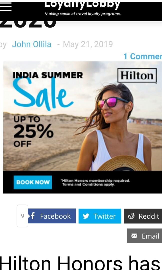 Europe, Middle East & Africa Up To 30% Off Summer Weekends Sale For Stays Through January 6, 2020