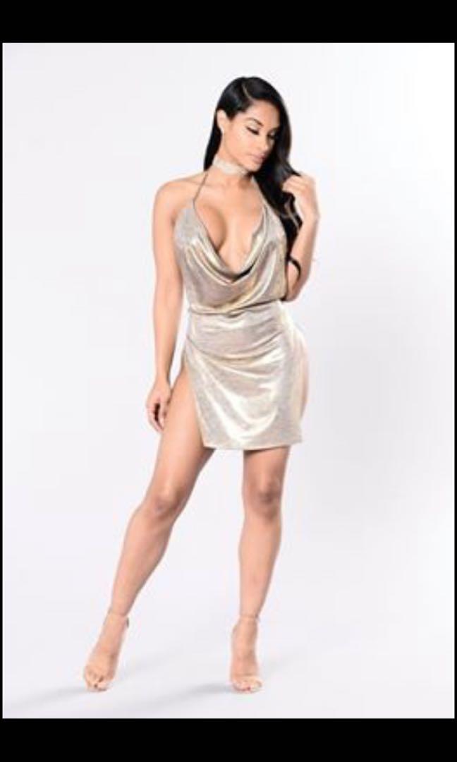Fashion Nova Simple Satisfaction Dress (Size Small)