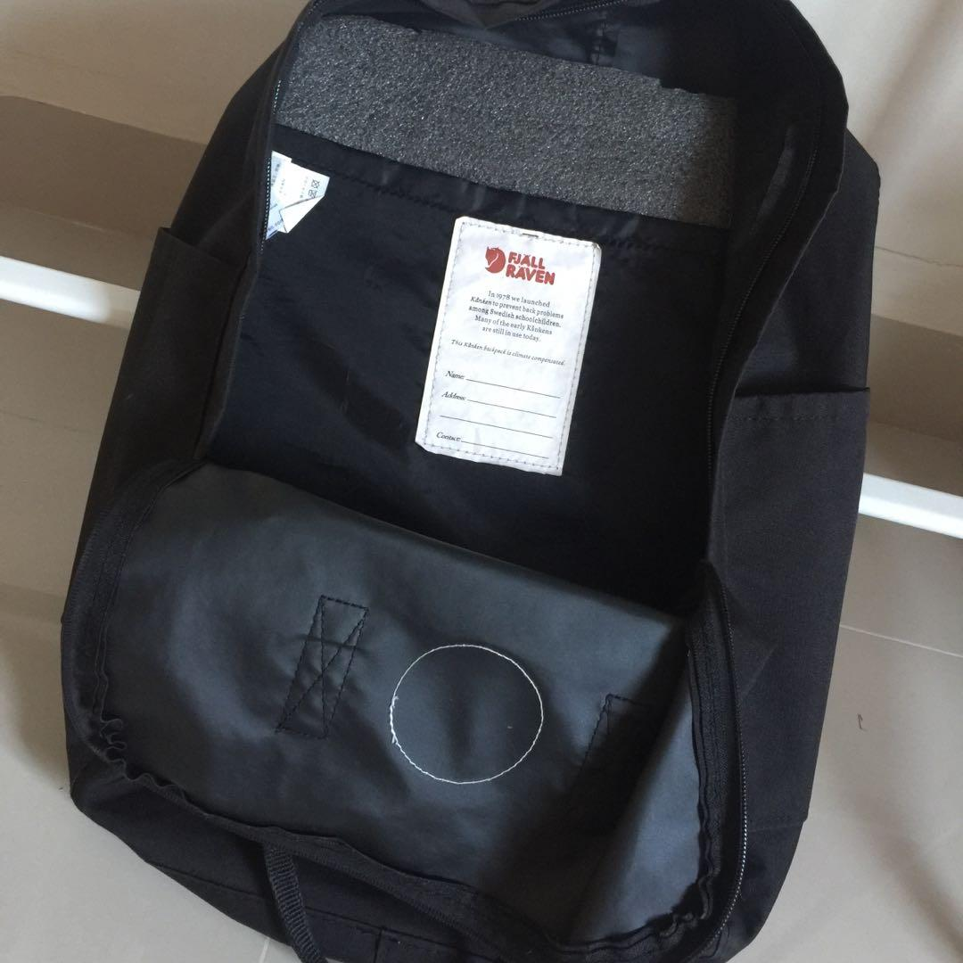 FJALLRAVEN KANKEN BIG BACKPACK BLACK