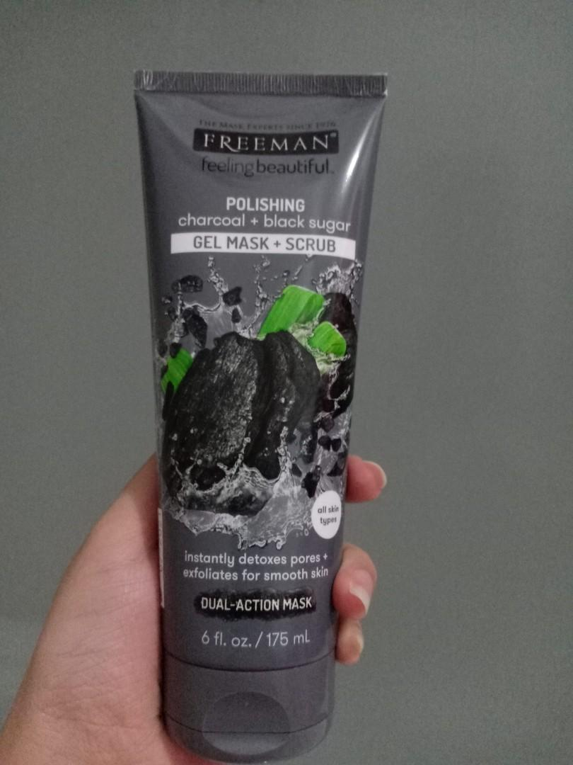 Freeman Gel Mask+Scrub Charcoal