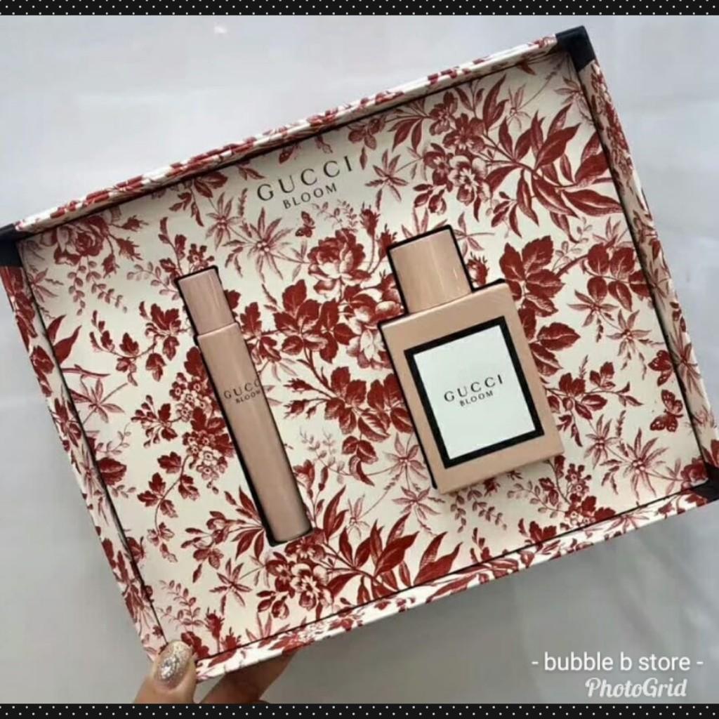Gucci Bloom Box Set  香水2件套裝  EDP 50ml + 香水筆 7.4ml