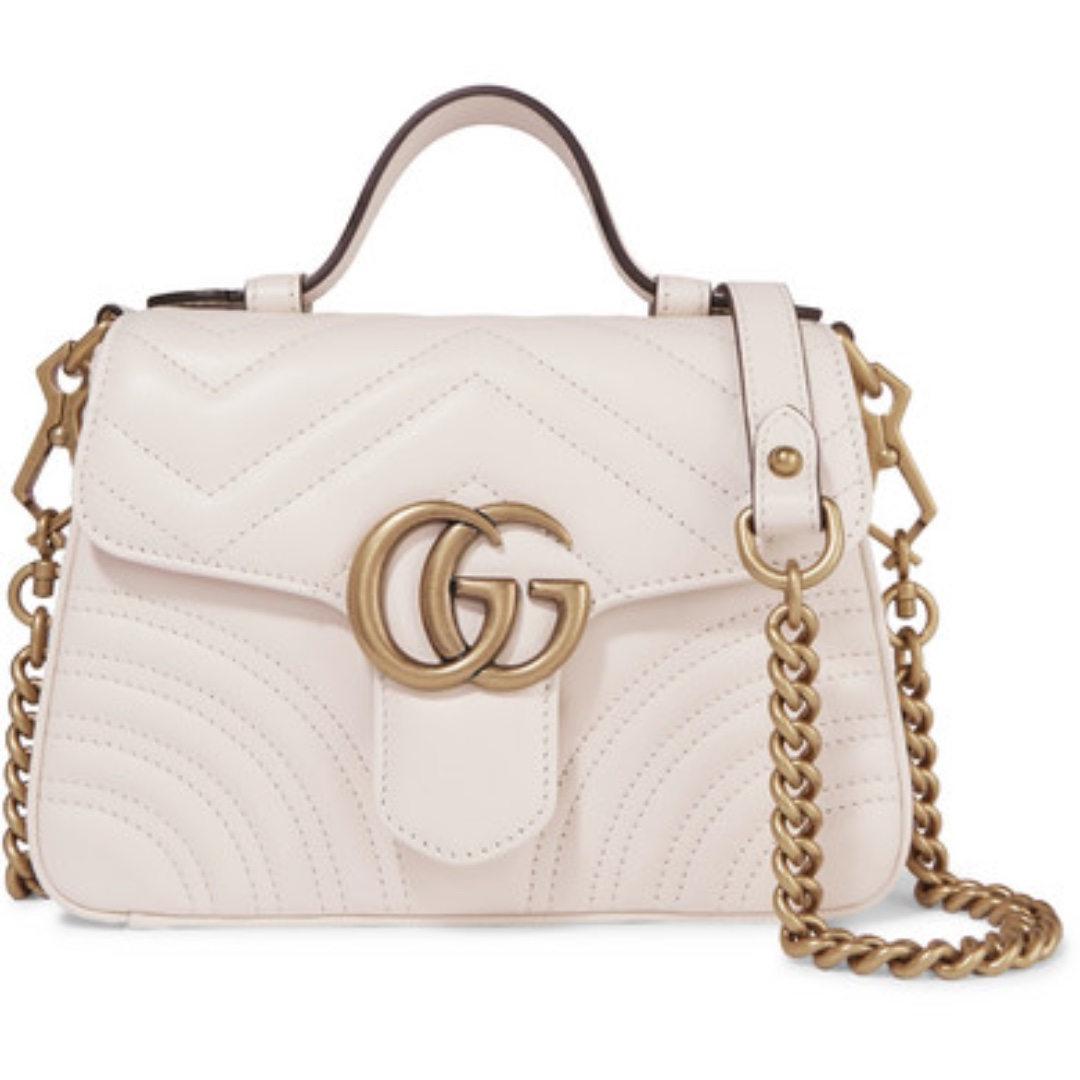 9c1d30be3c56a6 Gucci GG Marmont mini quilted leather shoulder bag, Luxury, Bags & Wallets,  Handbags on Carousell