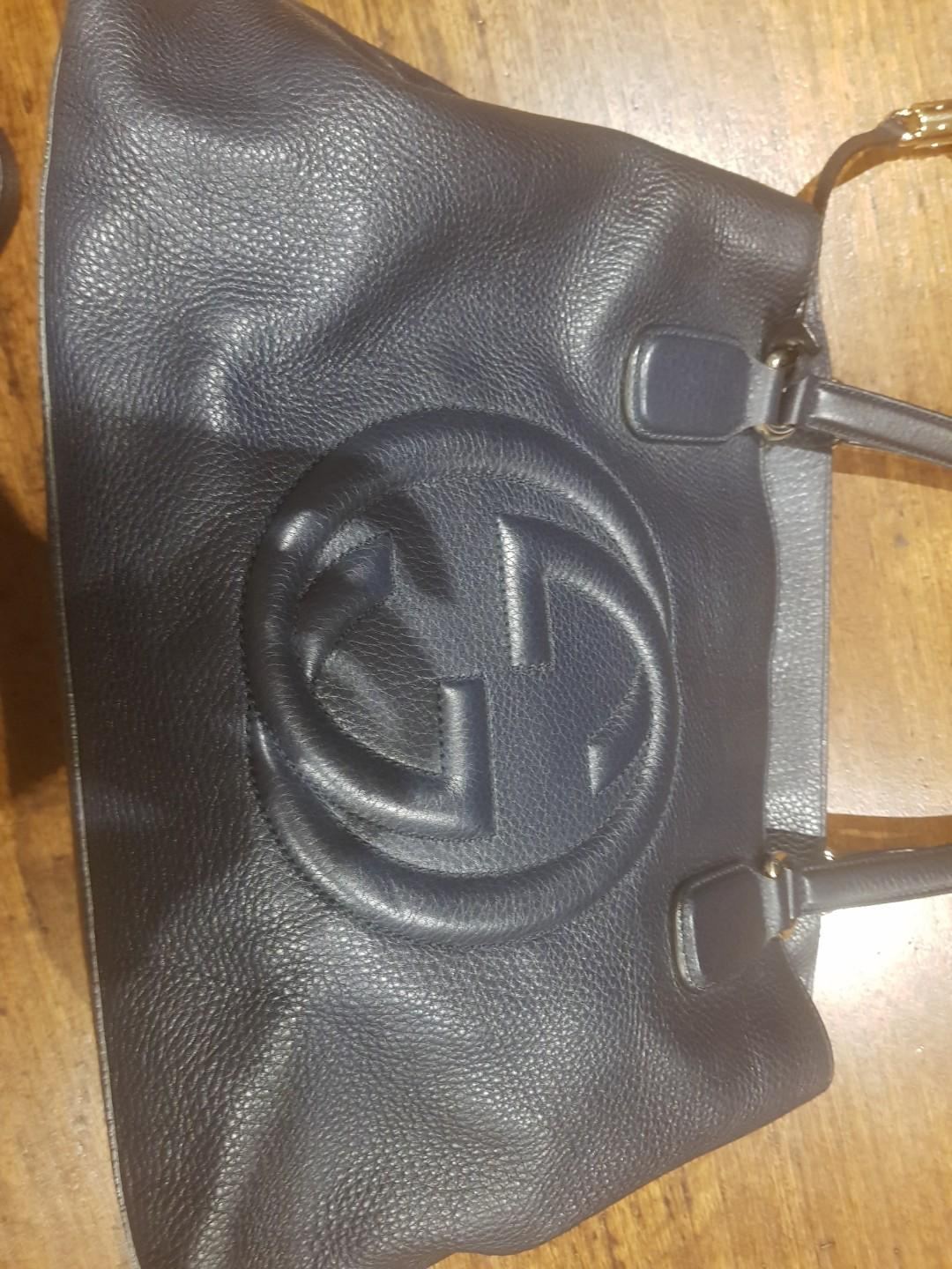 Gucci navy Soho bag genuine rrp$1950 excellent condition