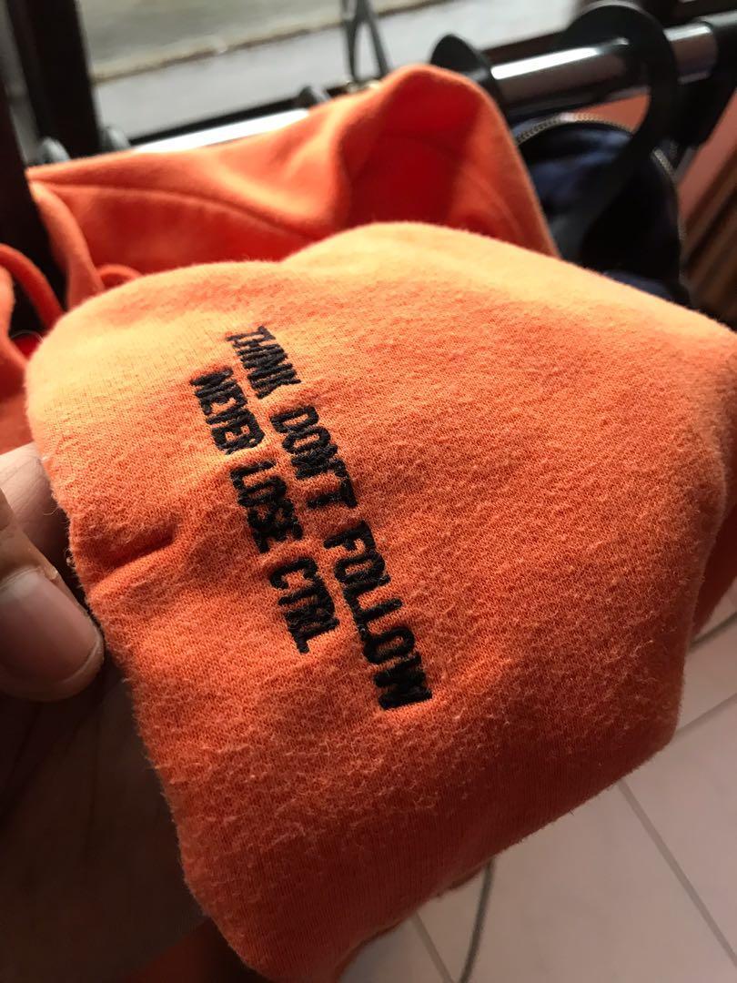 hoodie h&m orange