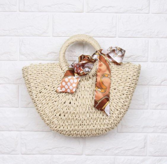 HOT Handbag Rotan Hand Bag Tas Fashion Wanita Impor Import Code 4318
