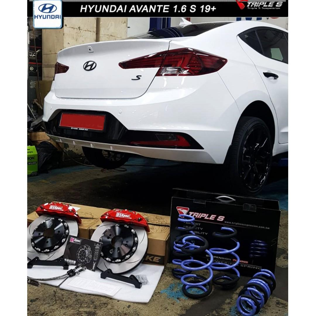 HYUNDAI AVANTE S 1.6 19+ TRIPLE S SPRINGS