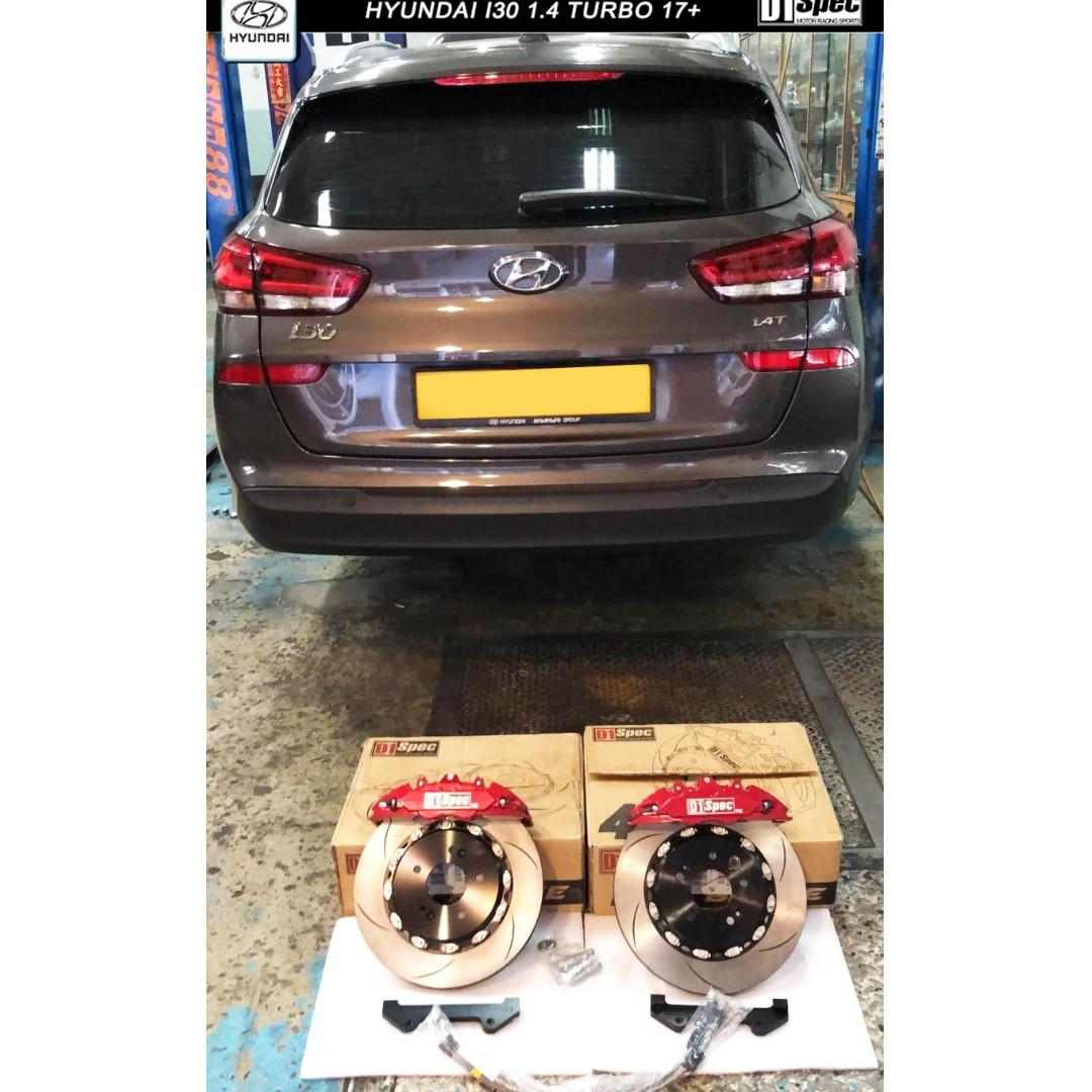 HYUNDAI I30 1.4 turbo ( D1 SPEC BIG BRAKE KIT 4 POT )