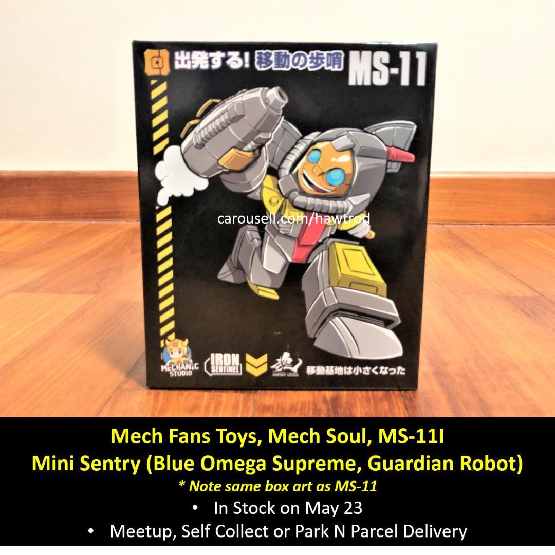 Transformers MFT Mech Soul MS11 Mini Sentry In stock MISB