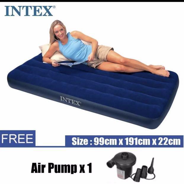 Intex air bed mattress