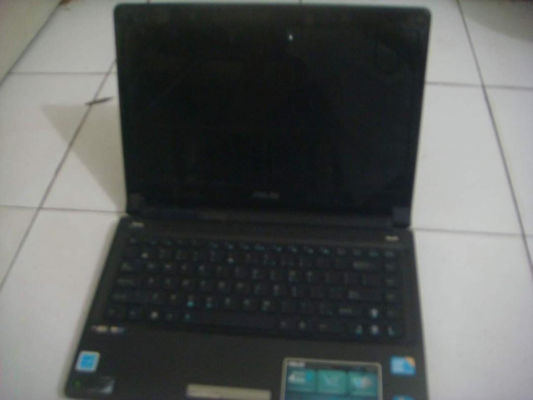 JUAL / TT / BARTER Laptop Asus Core I5 Lengkap Dengan Chargee Dan Tas