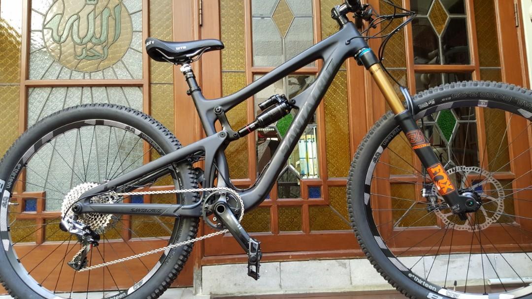 Jual Sepeda Santa Cruz carbon