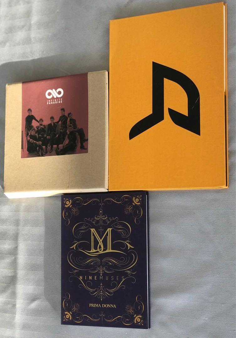 K Pop CD's - various artists