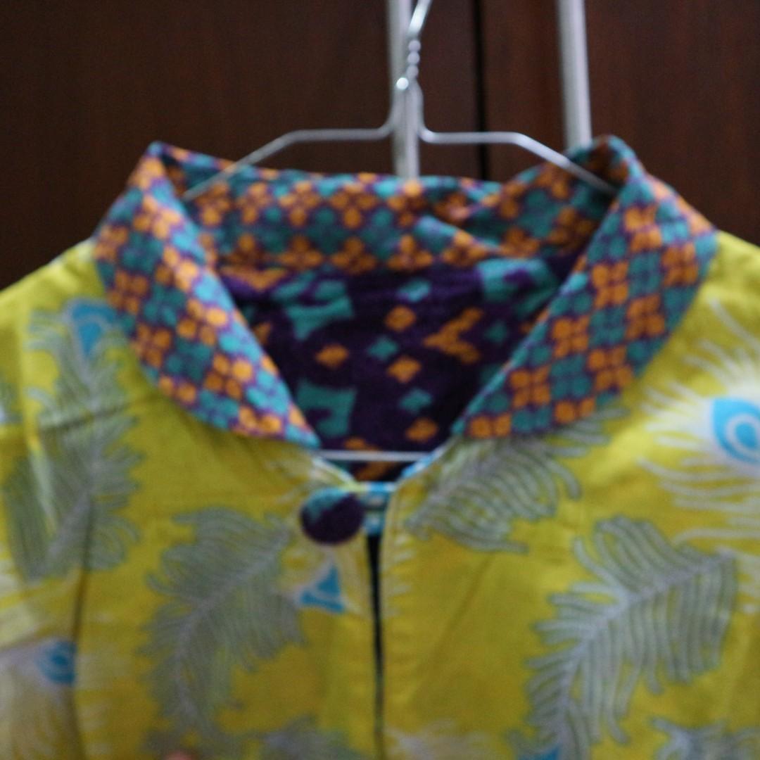 Kemeja + outer batik