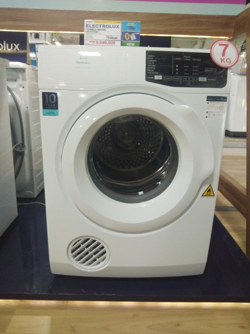 Kredit mesin cuci elektrolux tanpa kartu kredit promo bunga bisa 0%
