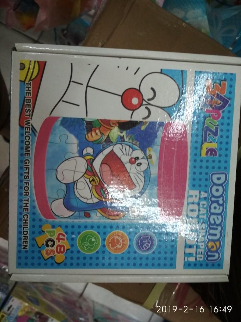 Lego hello Kitty dan Doraemon