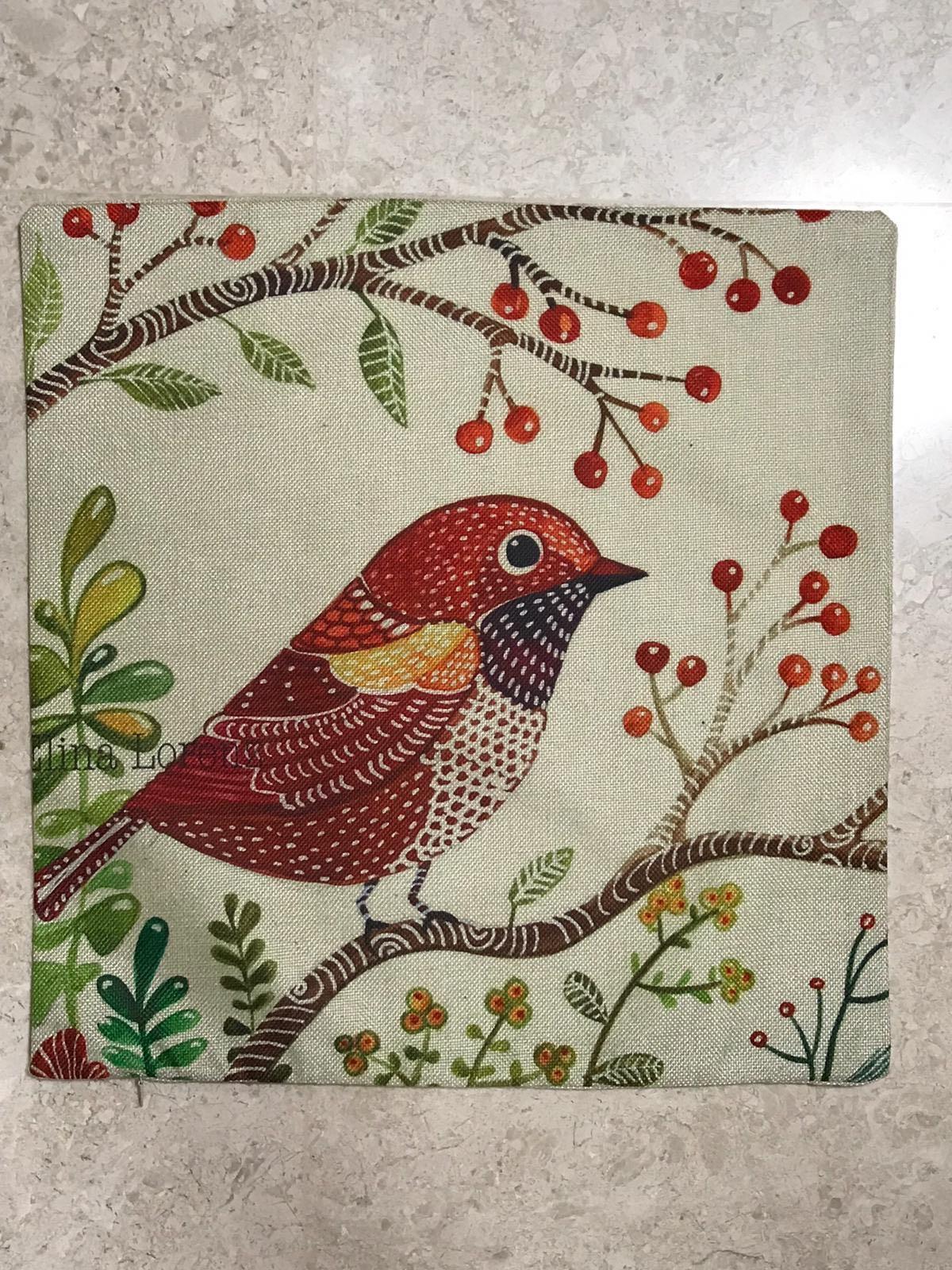 Linen Sofa Cushion Cover -  Nature Series (SDJ-004)