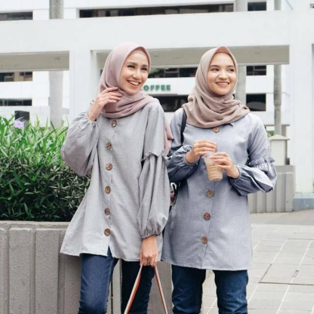 Liqa dress by Vanilla hijab jual rugi