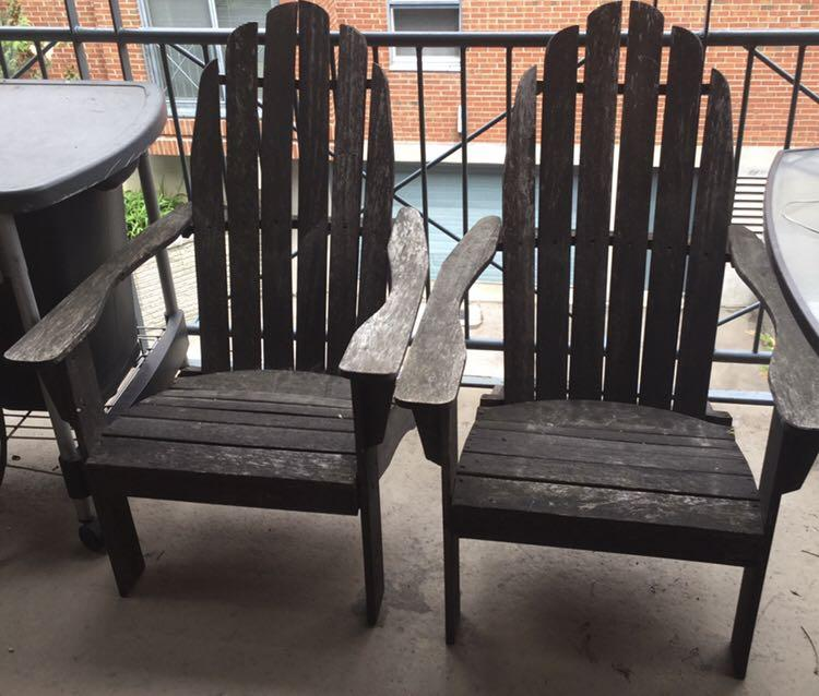 Long England Outdoor Chairs