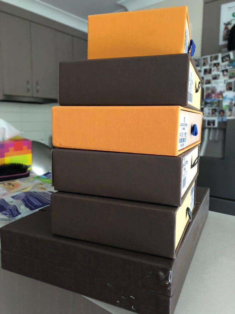 Louis Vuitton gift boxes