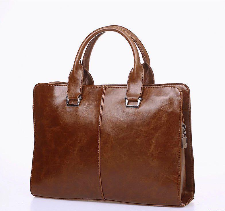 Mad Horse Brown Leather Satchel