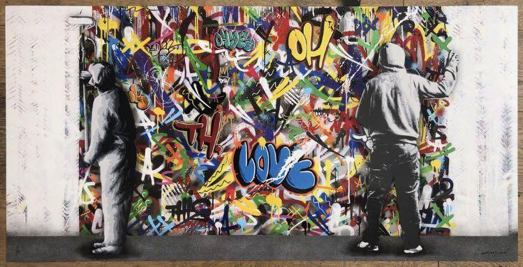MARTIN WHATSON - THE CYCLE DIPTYCH MAIN ED OF 195 art print streetart kaws