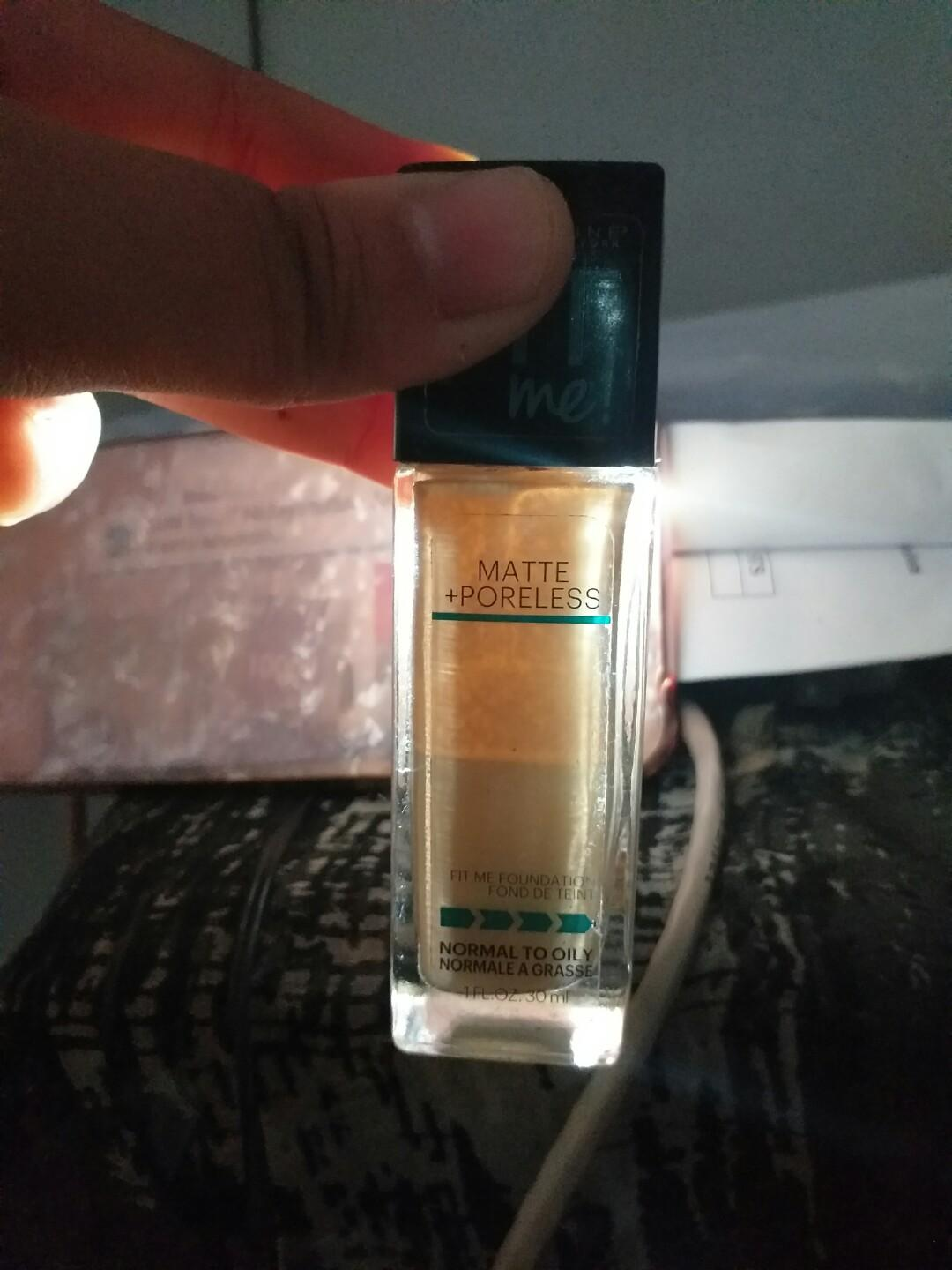 Maybelline Fit Me Matte Poreless Foundation shade 128 warm nude