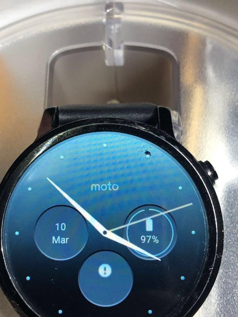 Moto360 2nd gen 5成新