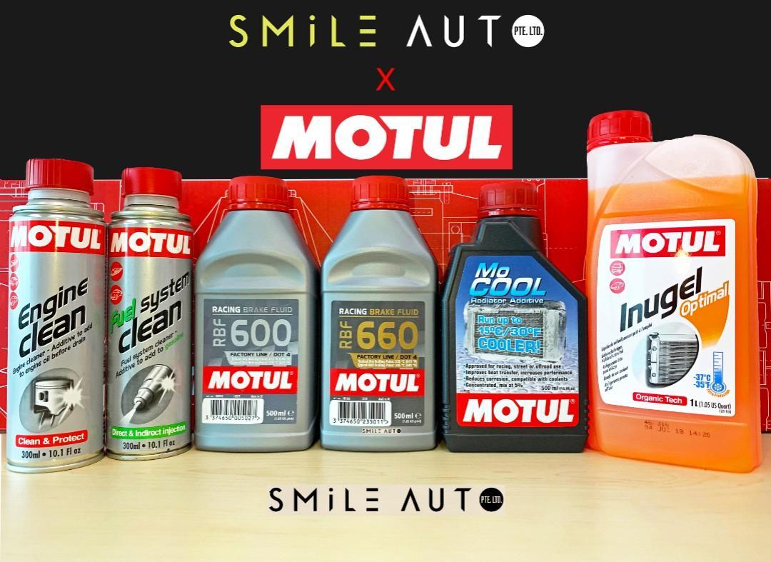 Motul Rejuvenation Package For Your Car! (Smile Auto X Motul)