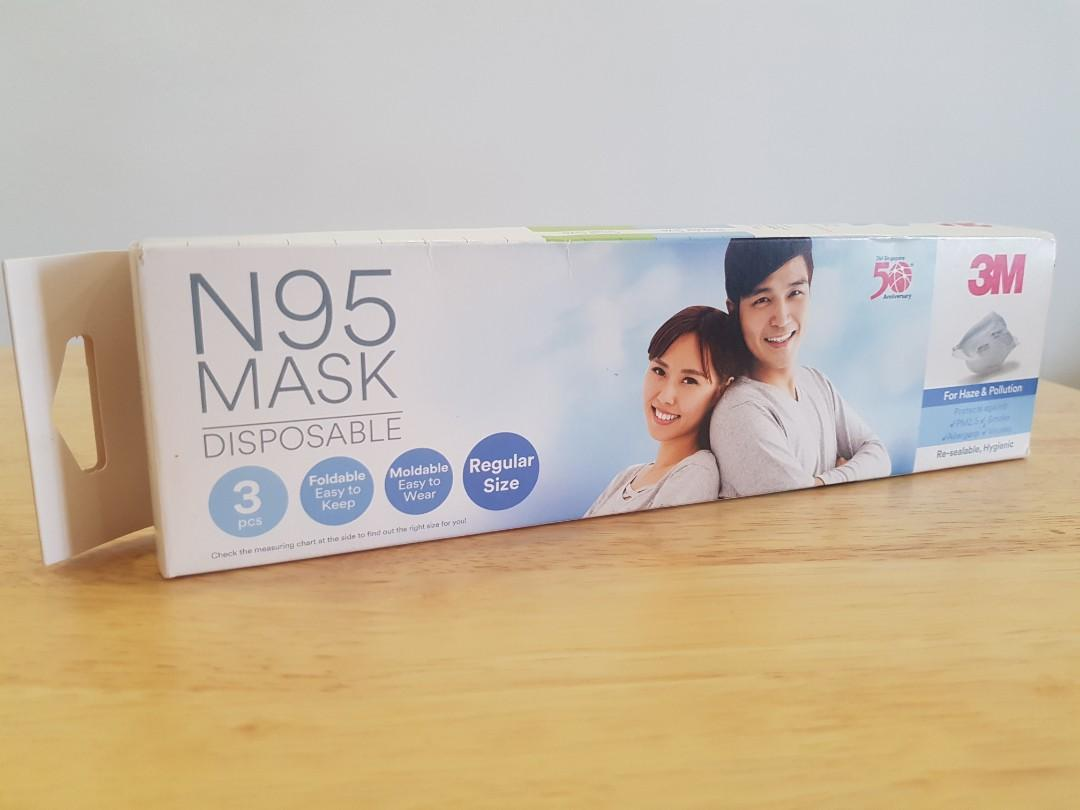 N95 Compact Disposable Masks