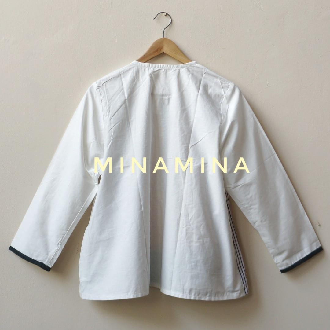 [NEW] Baju Atasan Wanita Smart Casual Batik Kombinasi WSP