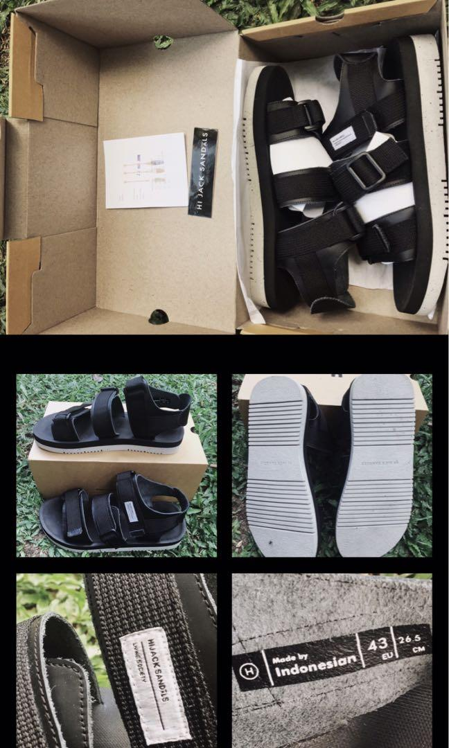 [NEW] HiJack Sandals, Kyoto Noire (Size 43)