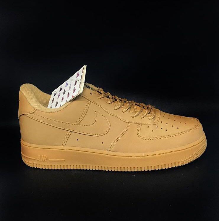 """Nike Air Force 1 Suede """"Wheat Gum"""""""