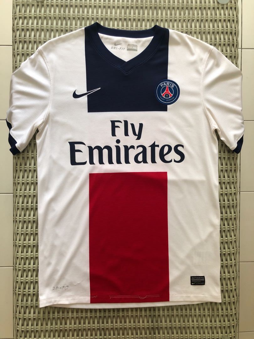 058eac92934e Nike💯% Authentic white Paris St Germain (PSG) home jersey for SGD ...