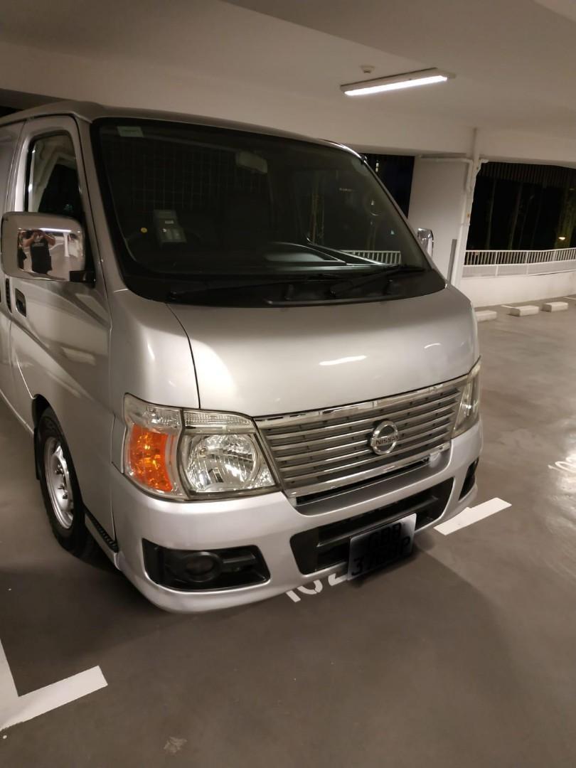 Nissan Urvan Van Rental