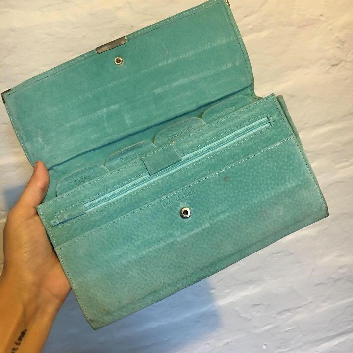 Passport Travel Wallet | Beautiful Aqua Turquoise Colour