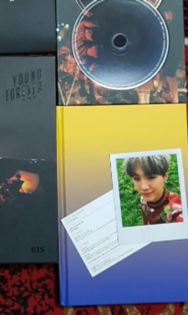 PHOTOCARD OFFICIAL BTS SUGA YOUNG FOREVER
