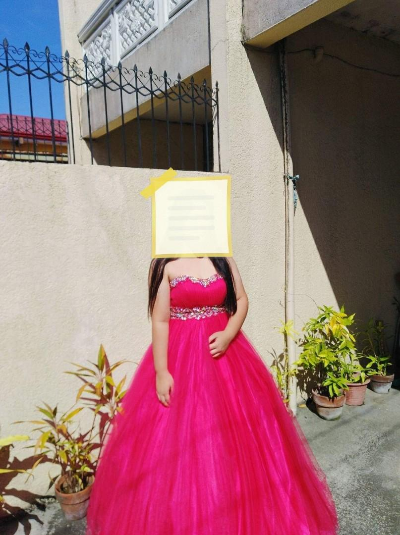 Pink Ball Gown For Sale Women S Fashion Clothes Dresses Skirts On Carousell