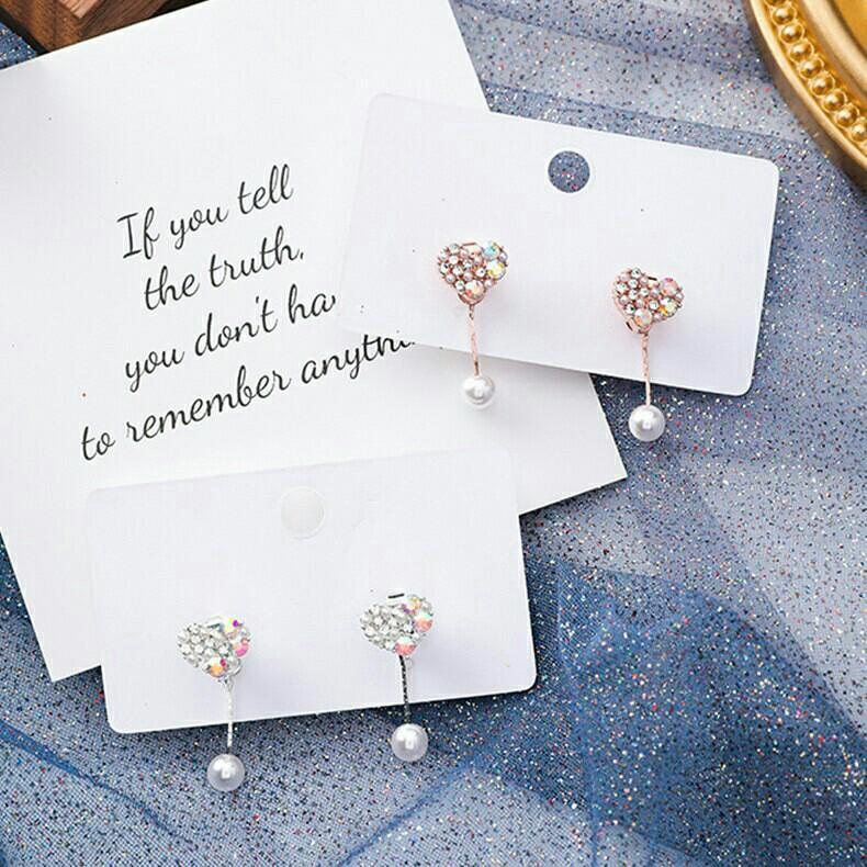 Po6 anting earrings akesoris antingkorea kalung gelang cincin hairpin jepitrambut jepitmutiara heels wedges