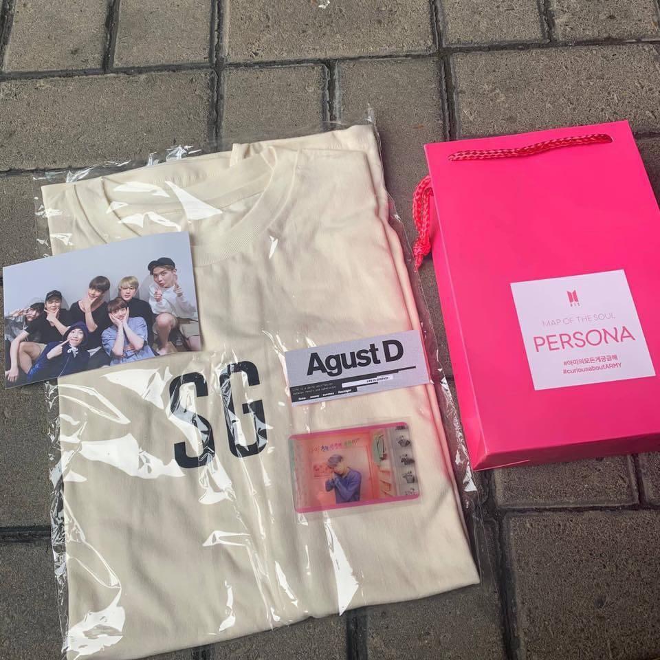 【PRE-ORDER】BTS Suga SG/FG T Shirt