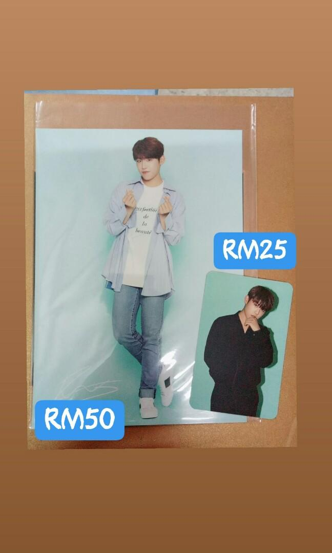 [Ready Stock] WooJin Pop up Store official merchandise