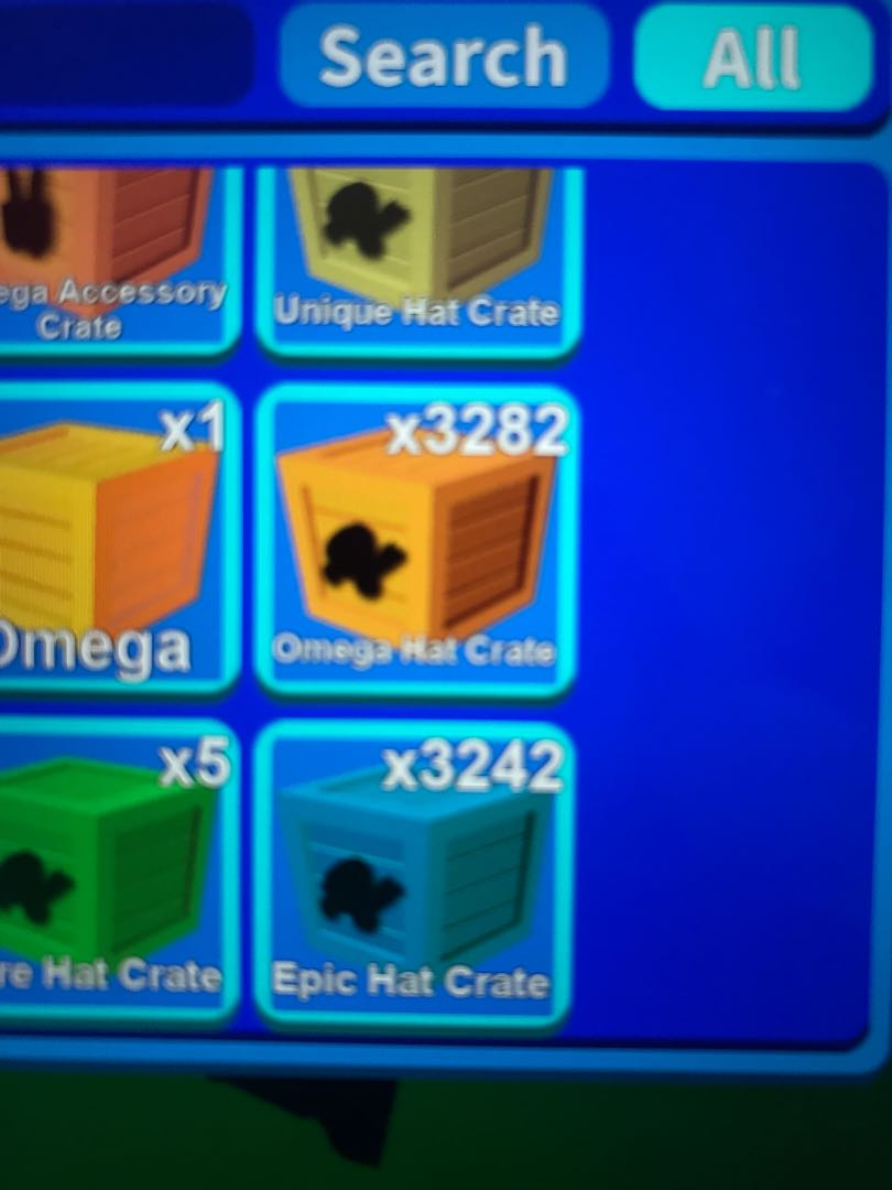 Selling hat crate in Roblox mining simulator Omega and epic 1 for 1 cent  buy in bulk only