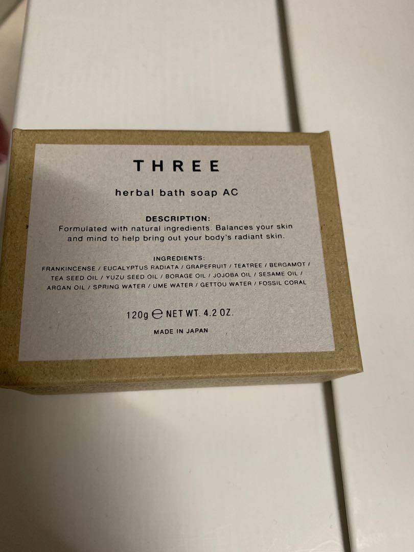 Three舒活沐浴皂